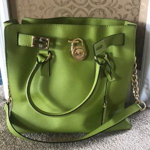 *Lime green* _LIMITED EDITION_ Michael Kors  tote